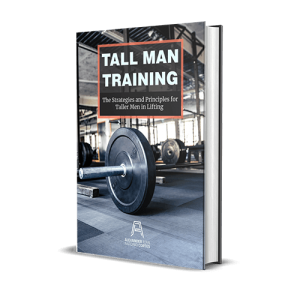 The tall man training by alexander cortes.